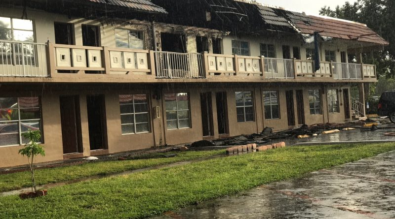 THE RED CROSS RESPONDS TO A MULTI-UNIT HOME FIRE IN MIAMI GARDENS