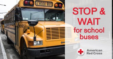 Red Cross Offers Back to School Safety Steps
